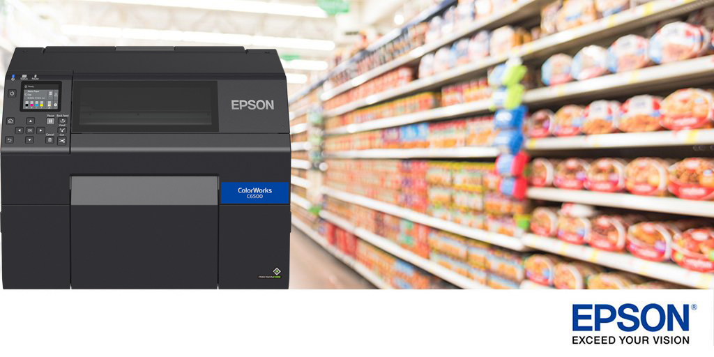 Epson CW-C6500 Colour Label Printer